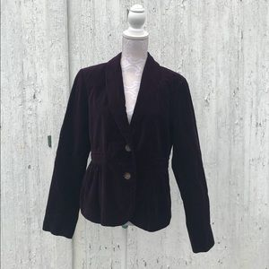 Velvet Purple J. Crew blazer